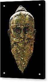The Jewel Eyed Hermit Acrylic Print by Gregory Smith