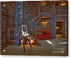 The King's Living Room Acrylic Print by Susan Candelario