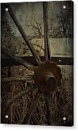The Land That Turns  Acrylic Print by JC Photography and Art