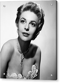 The Last Frontier, Anne Bancroft, 1955 Acrylic Print by Everett