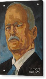 The Late Honorable Jack Layton Acrylic Print by John Malone