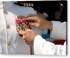 The Legion Of Merit Medal Acrylic Print by Stocktrek Images