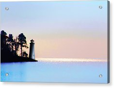 The Lighthouse Acrylic Print by Bill Cannon