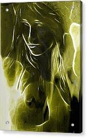 The Look Of Medusa Acrylic Print by Steve K