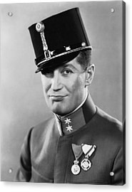 The Love Parade, Maurice Chevalier, 1929 Acrylic Print by Everett