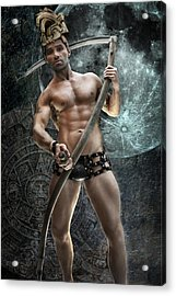 The Mayan Prophecy Acrylic Print by John Clum