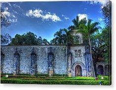 The Monastery Acrylic Print by Armando Perez