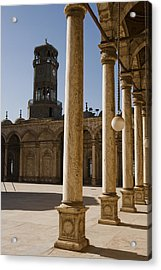 The Mosque Of Mohammed Ali In Saladins Acrylic Print by Taylor S. Kennedy