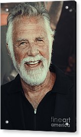 The Most Interesting Man In The World Acrylic Print by Nina Prommer