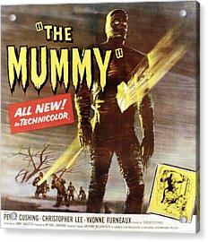 The Mummy, Christopher Lee, 1959 Acrylic Print by Everett