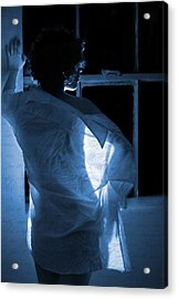 The Muse- She Moves Like Poetry Acrylic Print by Nyla Alisia
