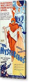 The Mysterians, Insert Poster Art, 1957 Acrylic Print by Everett