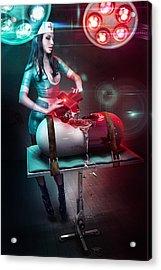 The Nurse Acrylic Print by Robert Palmer