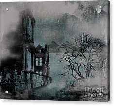 The Old Ruins Acrylic Print by Cheryl Young