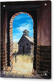 The Past Acrylic Print by Lynette Cook