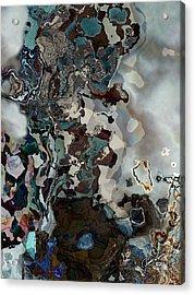 The Pearl Acrylic Print by The Art Of JudiLynn