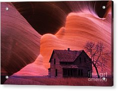The Perfect Storm Acrylic Print by Bob Christopher