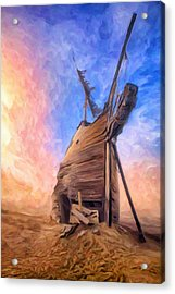 The Ravages Of Time Acrylic Print by Dominic Piperata