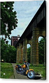 The Ride Acrylic Print by Tommy Anderson
