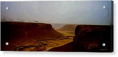 The Road To Seiyon Acrylic Print by Wayne Bonney