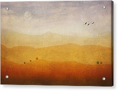 The Rolling Hills Acrylic Print by Tom York Images