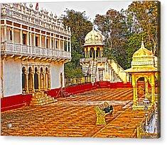 The Royal Corridor Acrylic Print by Makarand Purohit