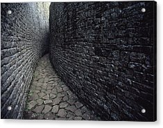The Ruins Of Great Zimbabwe Were Built Acrylic Print by James L. Stanfield