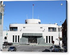 The Sala Burton Building . Maritime Museum . San Francisco California . 7d14087 Acrylic Print by Wingsdomain Art and Photography