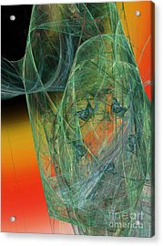 The Shawl Acrylic Print by Andee Design