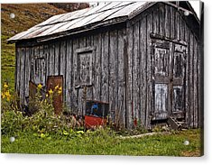 The Shed Acrylic Print by Steve Harrington