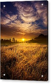 The Shining Acrylic Print by Phil Koch