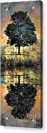 The Small Dreams Of Trees Acrylic Print by Tara Turner