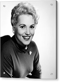 The Solid Gold Cadillac,judy Holliday Acrylic Print by Everett