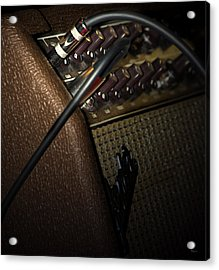 The Sound Of Vintage Tweed  Acrylic Print by Steven  Digman
