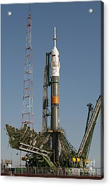 The Soyuz Rocket Shortly After Arrival Acrylic Print by Stocktrek Images