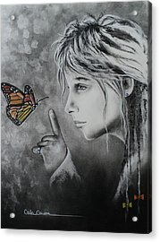 The Story Of Me Acrylic Print by Carla Carson