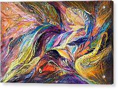 The Streams Acrylic Print by Elena Kotliarker