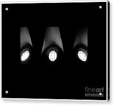 The Three Windows Of East View  Acrylic Print by Tammy Cantrell