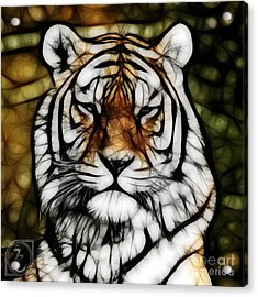 The Tiger Acrylic Print by The DigArtisT