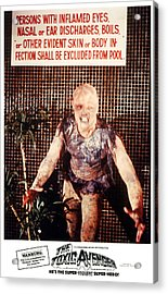 The Toxic Avenger, Mitch Cohen, 1985 Acrylic Print by Everett