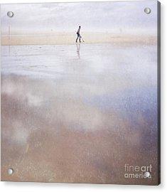 The Treasure Hunter Acrylic Print by Paul Grand