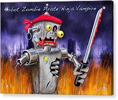 The Ultimate Nightmare  Acrylic Print by David Kyte