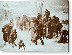The Underground Railroad Acrylic Print by Photo Researchers