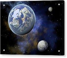The Universe Acrylic Print by Jay Lethbridge