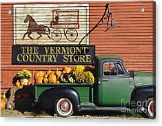 The Vermont Country Store Acrylic Print by John Greim