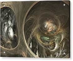 The Watcher Of Two Worlds Acrylic Print by Sipo Liimatainen