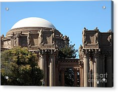 The Weeping Maidens Of The San Francisco Palace Of Fine Arts - 5d18305 Acrylic Print by Wingsdomain Art and Photography