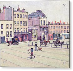The Weigh House - Cumberland Market Acrylic Print by Robert Polhill Bevan