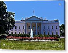 The White House - No. 0341  Acrylic Print by Joe Finney