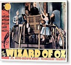 The Wizard Of Oz, Jack Haley, Ray Acrylic Print by Everett